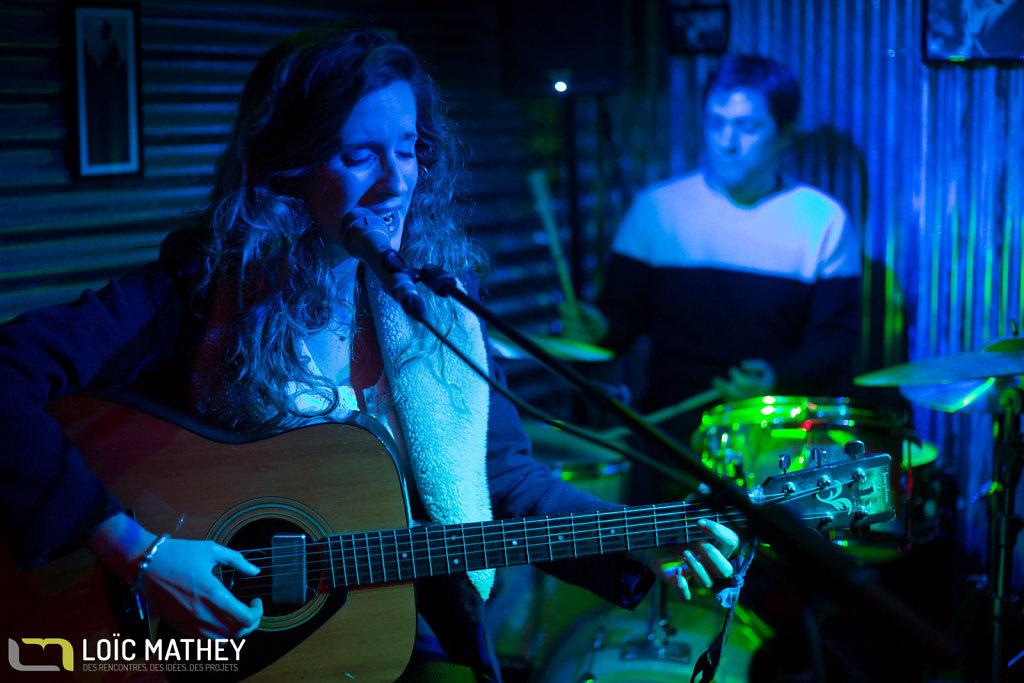 2015 -Concert Milos unplugged et Jessica Astrid Bachke @ L'artigiano Mangiatutto